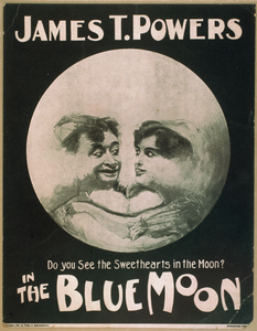 James T. Powers In The Blue Moon Image