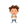 Angry Child Clipart Image