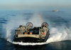 Landing Craft Air Cushion (lcac) Craft On Approach To The Amphibious Assault Ship Uss Kearsarge (lhd 3) Image