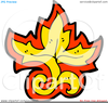 Clipart Red Leaf Image