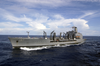 Usns Pecos (t-ao 197) Cruises In The Pacific Ocean Image