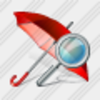 Icon Umbrella Search Image