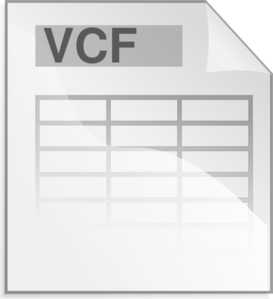 Vcffile Clip Art