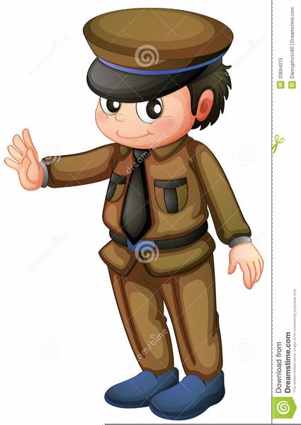 Happy police cartoon vector image on VectorStock   Cartoons vector, Cartoon,  Cartoon man