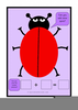 Ladybird No Spots Clipart Image