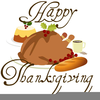 Thanksgiving Dinner Clipart Image