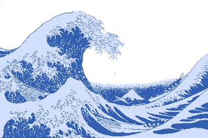 Great Wave Copy Image