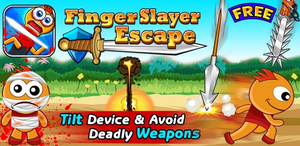 Finger Slayer Escape Logo New Image