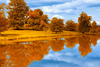 Autumn By The Lake Image