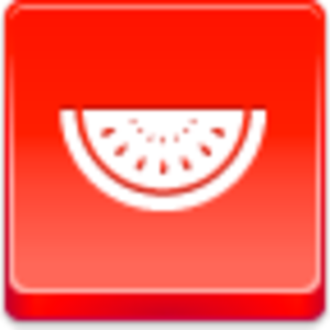 Free Red Button Icons Watermelon Piece Image