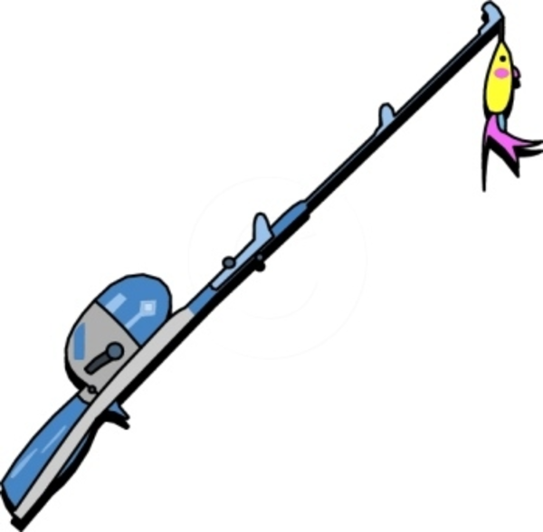Fishing Pole | Free Images at Clker.com - vector clip art ...