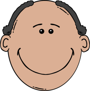 Man Face Cartoon Clip Art