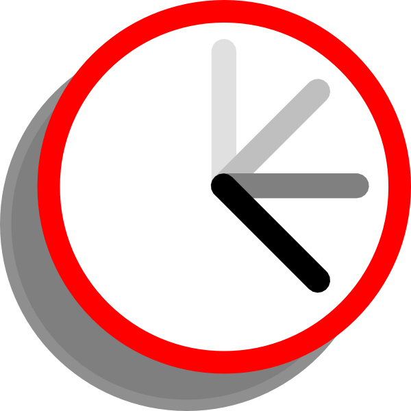 Ticking Clock Frame 2 Clip Art at Clker.com - vector clip ...