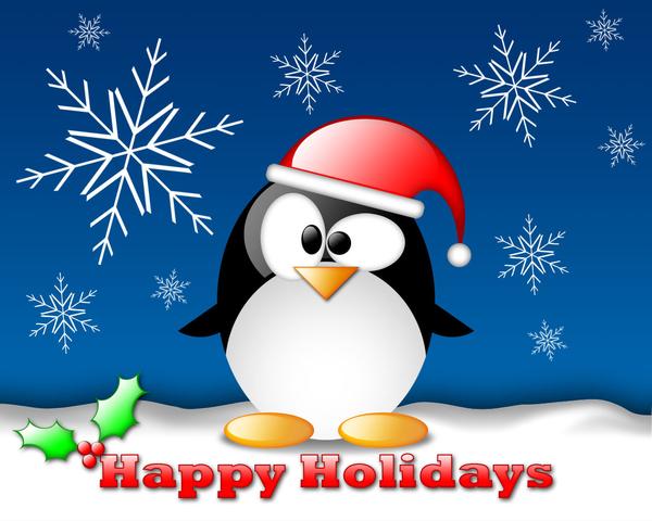 Happy Holidays Small Clip Art