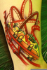 Roller Coaster Tattoo Image