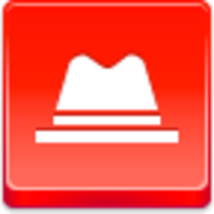 Free Red Button Icons Hat Image
