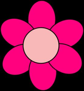 pink flower clip art at clker com vector clip art online royalty rh clker com pink clipart heart pink clip art heart