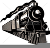 Free Steam Locomotive Clipart Image
