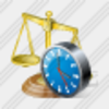 Icon Scales Clock Image