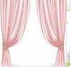 Window Curtains Clipart Image