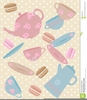 Free Tea Party Clipart Image