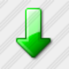 Icon Arrow Down Green 5 Image