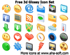 Preview Of Free 3d Glossy Icon Set Image