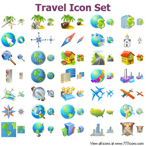travel icon set free images at clker com vector clip art online rh clker com free travel clipart downloads free travel clipart background
