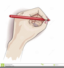 Left Handed Clipart Image