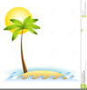 Clipart Palm Tree Ocean Image