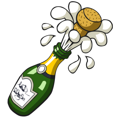 POOFness for SEP 20: HERE WE GO 1278183257448297306ist2_7395648-popping-champagne-bottle