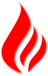 Flame Red Clip Art