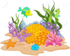 Free Sea Plants Clipart Image