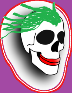 Cartoon Ugly Skull Md Image