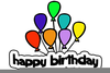 Clipart For Birthdays Image