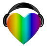 Rainbow Headphones Image