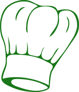 Green Chef S Hat Clip Art