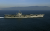 The Nuclear Powered Aircraft Carrier Uss George Washington (cvn 73) And The Air Wing Of Carrier Air Wing Seven (cvw-7) Transit The Straits Of Gibraltar. Image