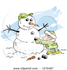 Animated Winter Tree Clipart Image