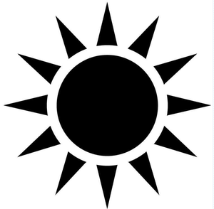 Black Sun | Free Images at Clker com - vector clip art online