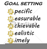 Setting Goal Clipart Image