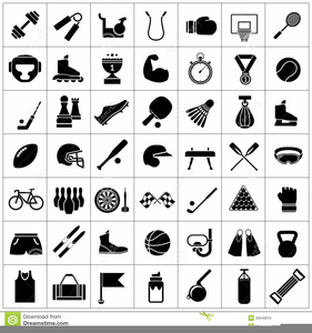 Free Clipart Exercise Equipment Image