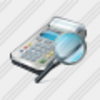 Icon Cash Register Search Image