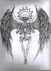 Angel Wings Skeleton Image