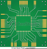 Circuit Board Clipart Image