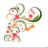 Floral Design Clipart Free Image