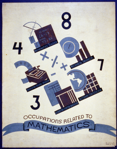 Occupations Related To Mathematics  / Blanche L. Anish. Image