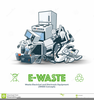 Electronic Waste Clipart Image