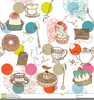 Pastries Clipart Image