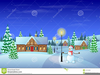 Christmas Clipart House Light Image
